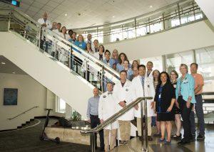UW Medicine Regional Burn Center leadership team