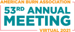 American Burn Association 53rd Annual Meeting Virtual 2021 logo