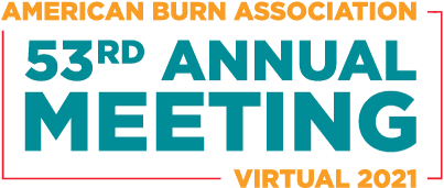 American Burn Association 53rd Annual Meeting Virtual 2021 logo